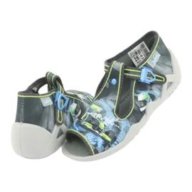 Befado children's shoes 217P102 blue grey green 5