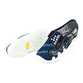 Befado children's shoes 290X211 navy 4
