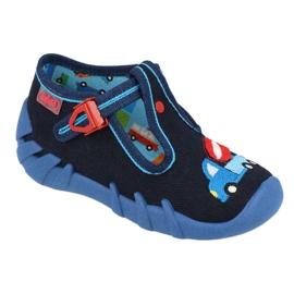 Befado children's shoes 110P385 navy blue 1