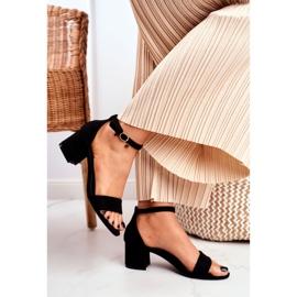 BUGO Women's Suede Black Sandals Oh Baby! 2
