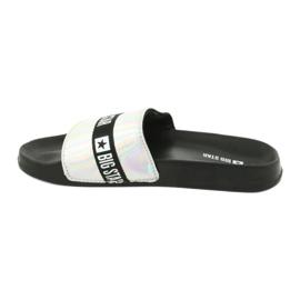 HOLO Big Star 274A005 women's slippers black grey 1