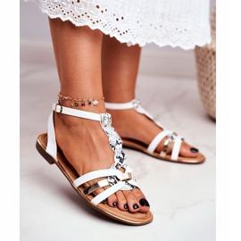 SEA Women's Sandals Elegant White Snake Brooke 1
