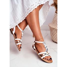 SEA Women's Sandals Elegant White Snake Brooke 2