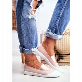 LU BOO Sneakers Slip On Slip-on Sneakers Pink Justy 1