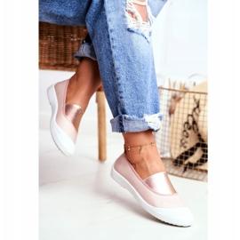 LU BOO Sneakers Slip On Slip-on Sneakers Pink Justy 3