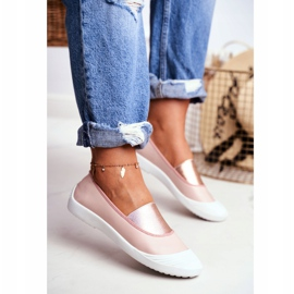 LU BOO Sneakers Slip On Slip-on Sneakers Pink Justy 2