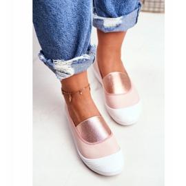 LU BOO Sneakers Slip On Slip-on Sneakers Pink Justy 4