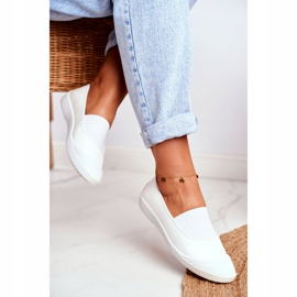 LU BOO Sneakers Slip On Slip-on Sneakers White Justy 3