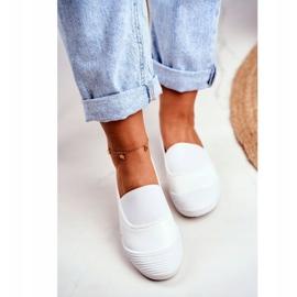 LU BOO Sneakers Slip On Slip-on Sneakers White Justy 4