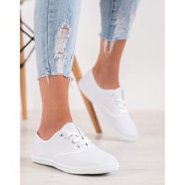 SHELOVET Light White Sneakers 2