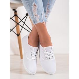 SHELOVET Light White Sneakers 3