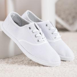 SHELOVET Light White Sneakers 1