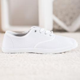 SHELOVET Light White Sneakers 4