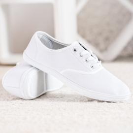 SHELOVET Light White Sneakers 5