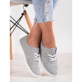 SHELOVET Light Gray Sneakers grey 1