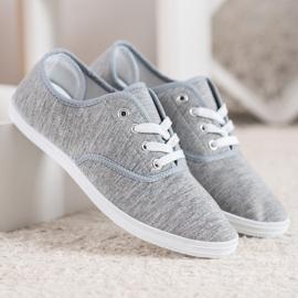 SHELOVET Light Gray Sneakers grey 2