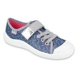 Befado children's shoes 251Y153 blue grey 1