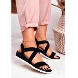 SEA Women's Sandals On Wedge Black Slip-on Harper 2