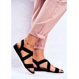 SEA Women's Sandals On Wedge Black Slip-on Harper 1