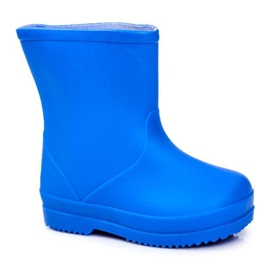 Children's Blue Classic Lullaby Rubber Galoshes 2
