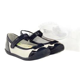 Ballerinas children's shoes Ren But 1405 navy blue multicolored white 4