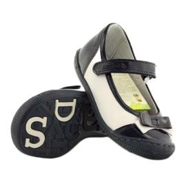 Ballerinas children's shoes Ren But 1405 navy blue multicolored white 3
