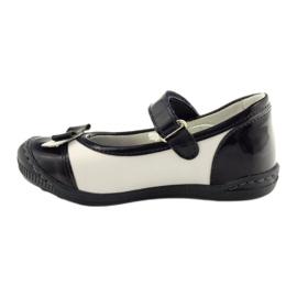 Ballerinas children's shoes Ren But 1405 navy blue multicolored white 2