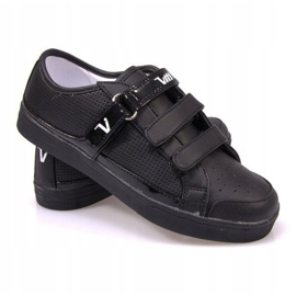 Sneakers With Velcro F-1-02 Black 1