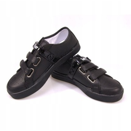 Sneakers With Velcro F-1-02 Black 2