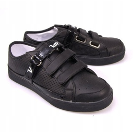 Sneakers With Velcro F-1-02 Black 3