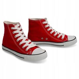 High Sneakers Konwers 8222 Red 1