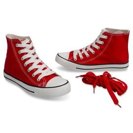 High Sneakers Konwers 8222 Red 2
