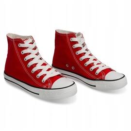 High Sneakers Konwers 8222 Red 3
