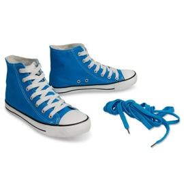 High Sneakers Konwers 8222 Sky Blue 3