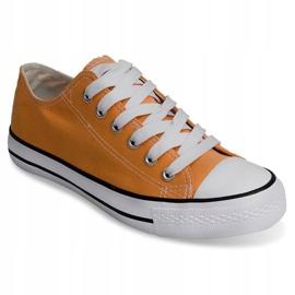 High Sneakers Konwers 8223 Peach yellow 1