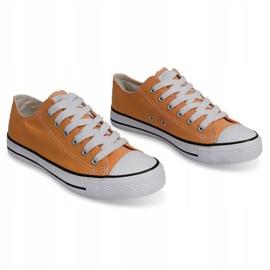 High Sneakers Konwers 8223 Peach yellow 2