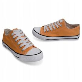 High Sneakers Konwers 8223 Peach yellow 3