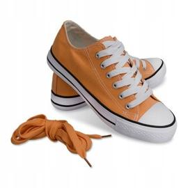 High Sneakers Konwers 8223 Peach yellow 4