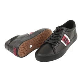 Black Big star GG174111 sneakers white red 3