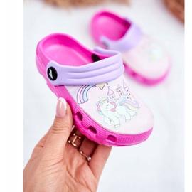 Children's Slippers Foam Crocs Pink Ponies Pony 2