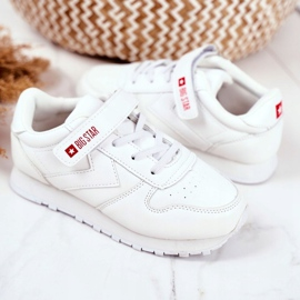 Sport Children's Shoes Big Star With Velcro White GG374057 3