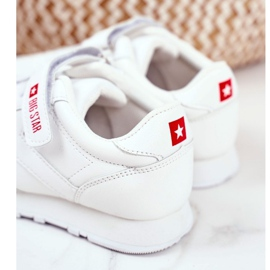 Sport Children's Shoes Big Star With Velcro White GG374057 4