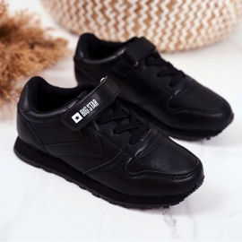 Sport Children's Shoes Big Star With Velcro Black GG374059 1