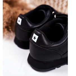 Sport Children's Shoes Big Star With Velcro Black GG374059 3