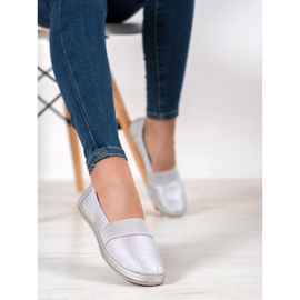 SHELOVET Stylish Slip-On Sneakers grey 2