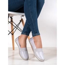 SHELOVET Stylish Slip-On Sneakers grey 1
