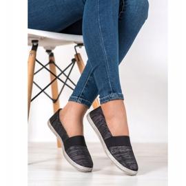 SHELOVET Stylish Slip-On Sneakers black 2