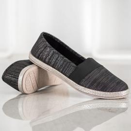 SHELOVET Stylish Slip-On Sneakers black 3