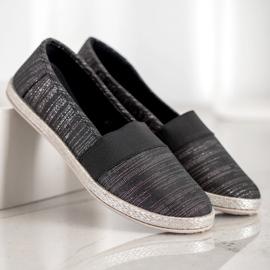 SHELOVET Stylish Slip-On Sneakers black 4