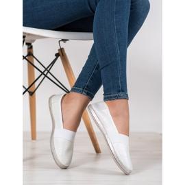 SHELOVET Stylish Slip-On Sneakers white 1